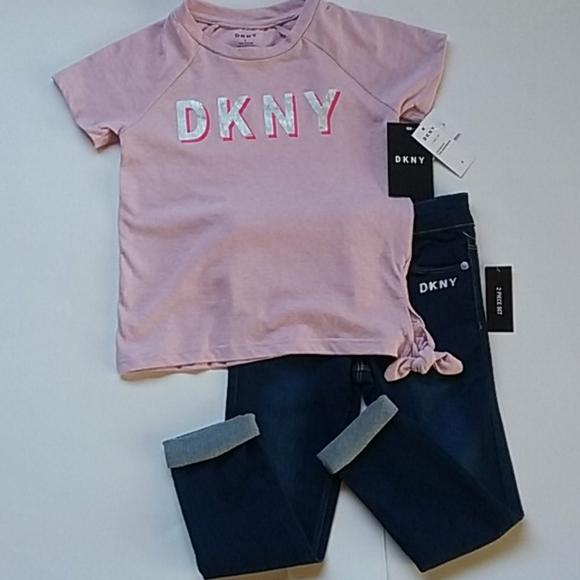 DKNY Girls Pants Set